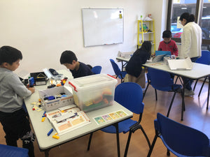 STEMLOOK Robotics School Chatswood Robot Explorers Design in Progress