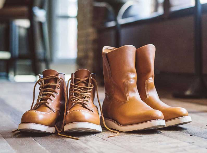 New Red Wing Shoes arrivals: Irish Setter Limited Series