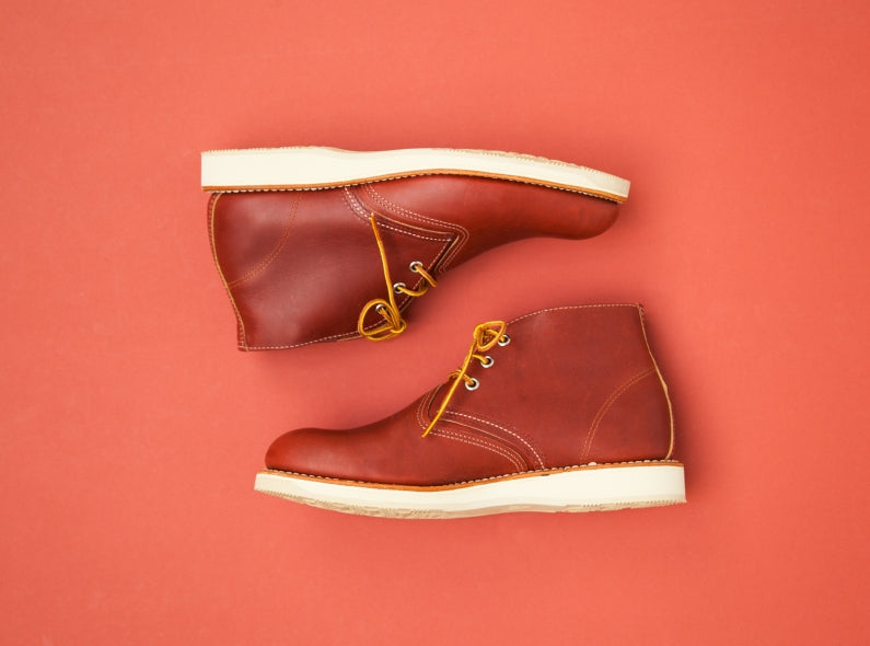 Introducing the Red Wing Work Chukka Copper Worksmith