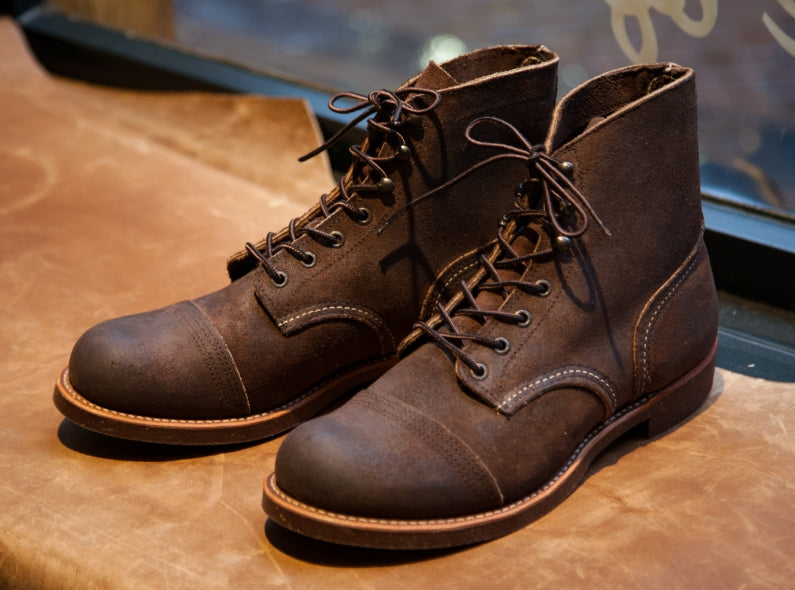 Introducing the Red Wing Shoes 4590 Iron Ranger in Chocolate Muleskinner