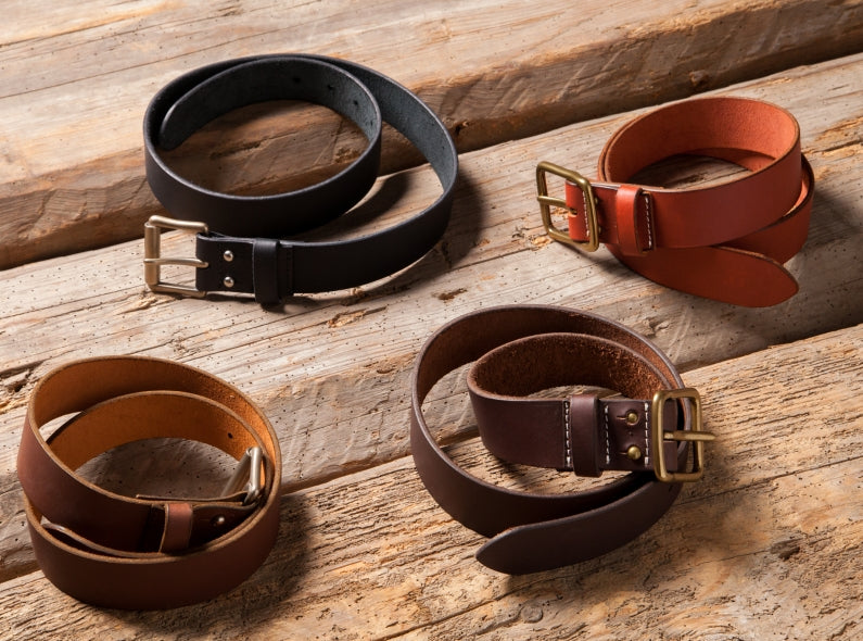 New Arrivals: Red Wing Leather Belts