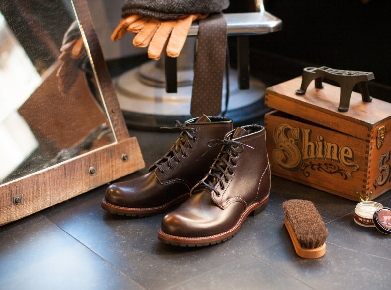 Red Wing Shoes 9023 Beckman in Walnut Settler