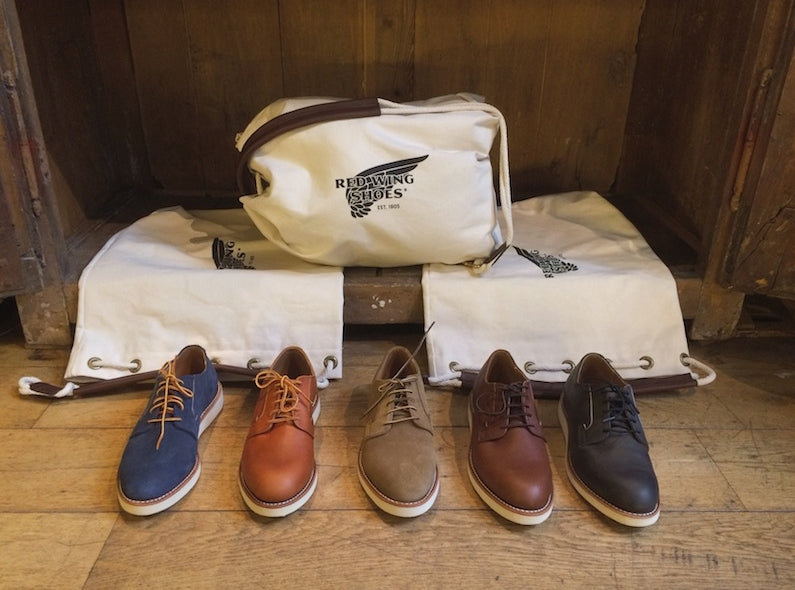 Red Wing Postman Shoes Bag Give-away!