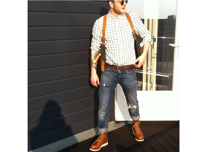 Nº6 of 7 - Best of #redwingstyle @redwingamsterdam - featuring Jerry and his 877 Irish Setters