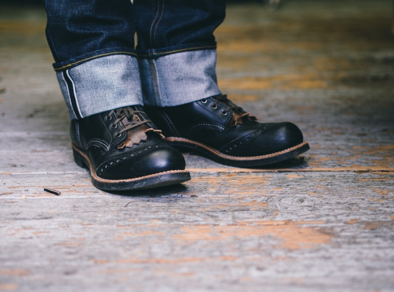 Fringe up your Red Wing Shoes with Matt of Wood and Faulk