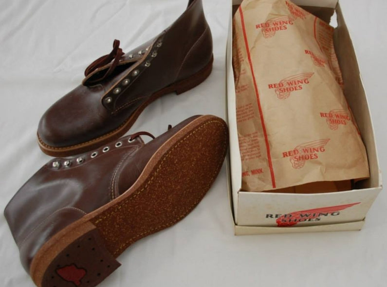 A pair of Red Wing Shoes Blacksmith from the 1960's