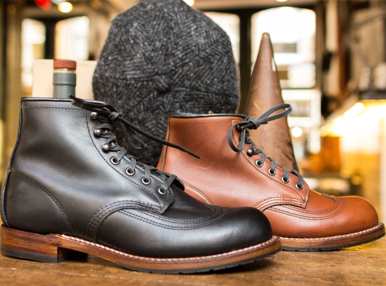 Meet your new dandy friends: the Red Wing Shoes Beckman Wingtip!