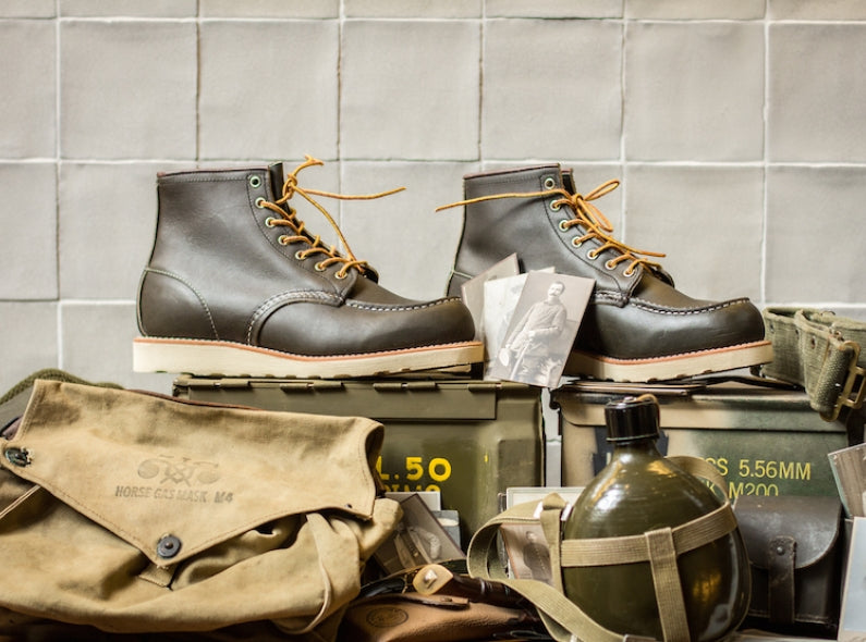 Now available at the Red Wing Shoe Store Amsterdam: the Red Wing Shoes 8180 Kangatan Green!