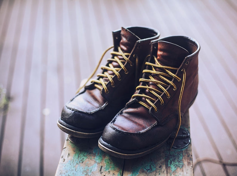 The worth of conditioning old leather Red Wing Shoes
