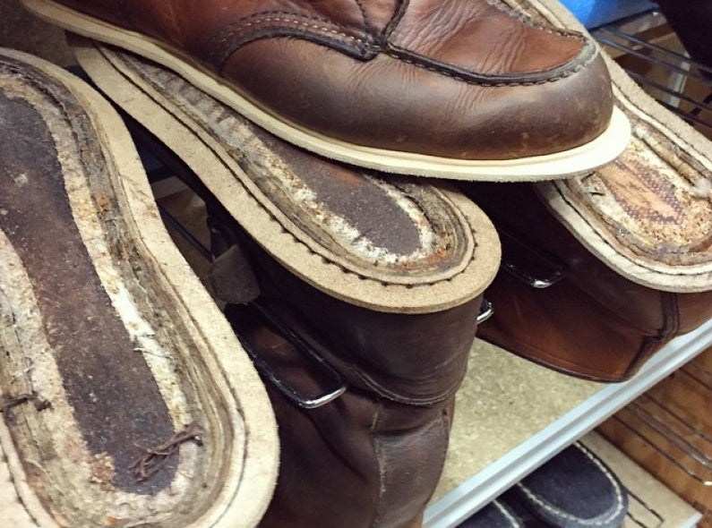 Red Wing Shoes Customizing and Resoling