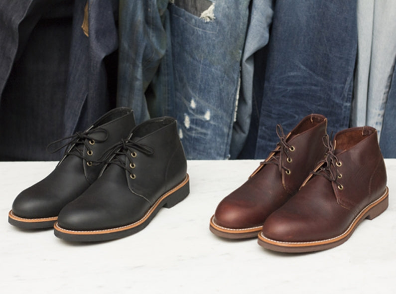 Red Wing Shoe Store Amsterdam presents: the Foreman Chukka