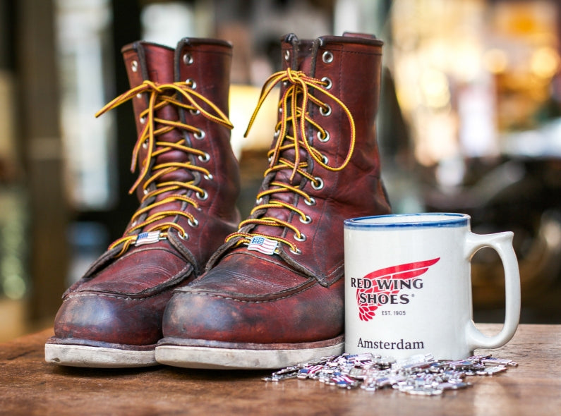 For our beloved friends: Red Wing Lace Keepers