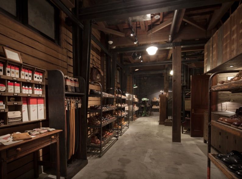A second Red Wing Shoe Store has just openend in Osaka, Japan!