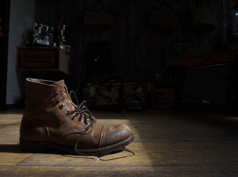The Red Wing Shoes Iron Ranger Catched in Sunray