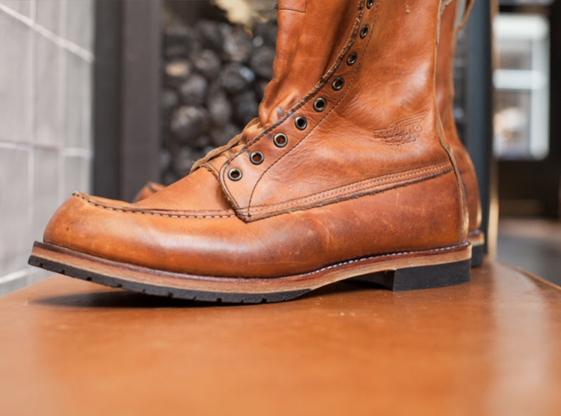 Let's customize your Red Wing Boots! #amsterdamcustom #myredwings
