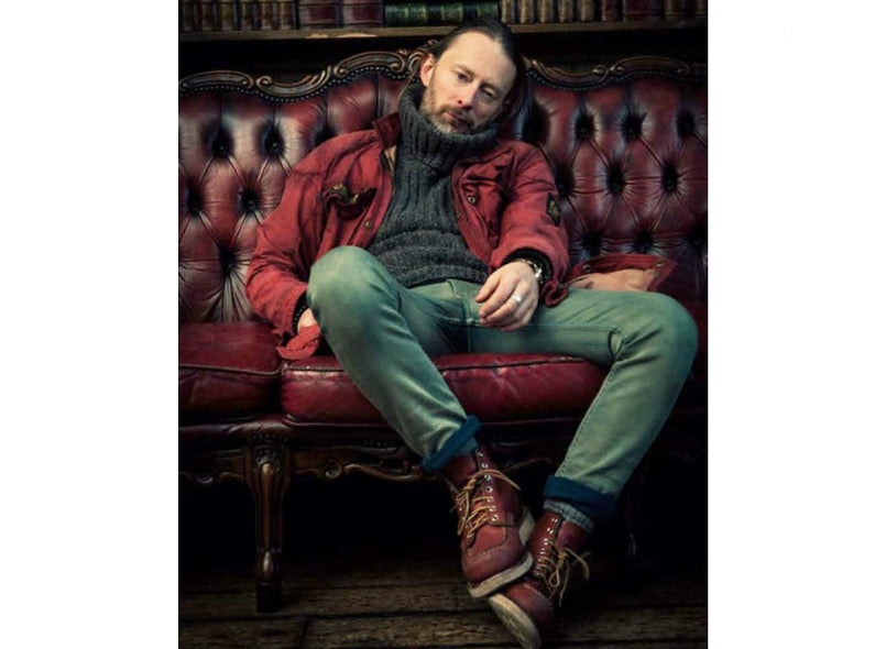 Customers of the Red Wing Shoe Store Amsterdam - Thom Yorke