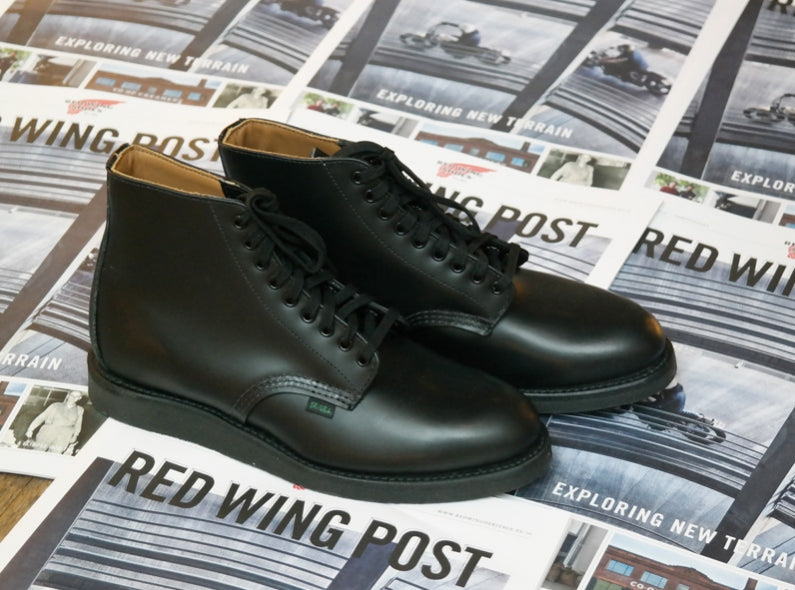 Now Available: The Red Wing Shoes 9197 6'' Policeman Boot in Black Chaparral