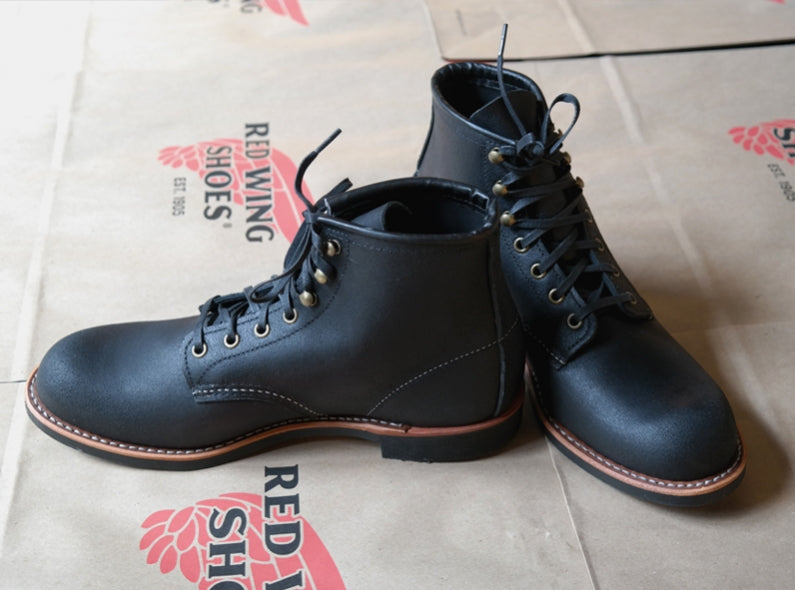 Now available: the Red Wing Shoes 2955 Blacksmith in Black Spitfire