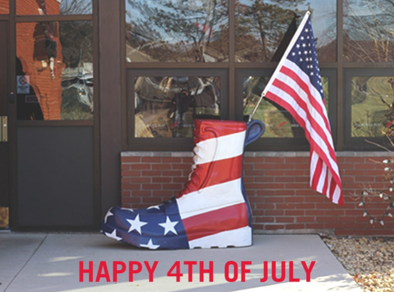 Red Wing Shoe Store Amsterdam wishes you a happy Independence Day!