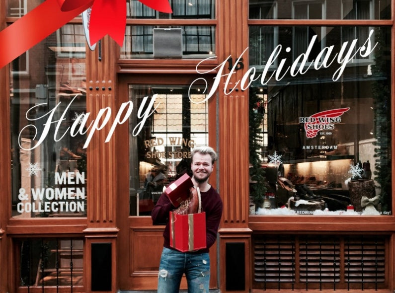 The Red Wing Shoe Store Amsterdam wishes a wonderful 2017!