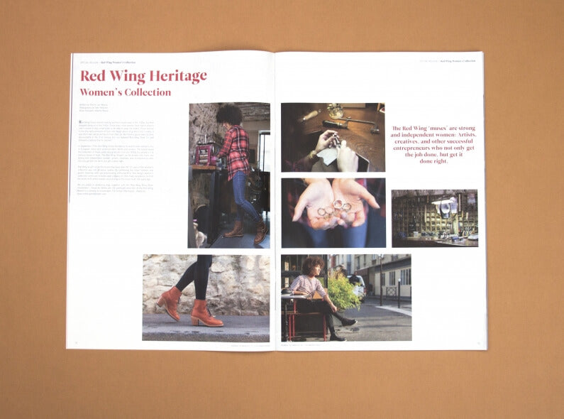 Red Wing Women's collection in Journal de Nîmes
