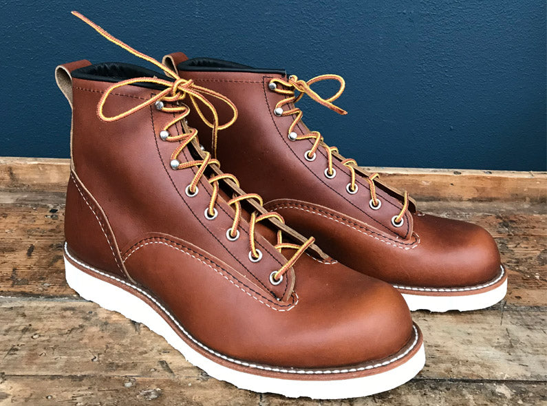 OUT NOW: Limited Edition Red Wing Shoes 2904 Lineman in Oro-iginal!