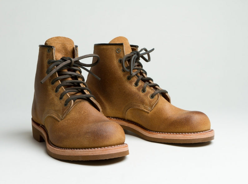The Munson Boot by Nigel Cabourn and Red Wing
