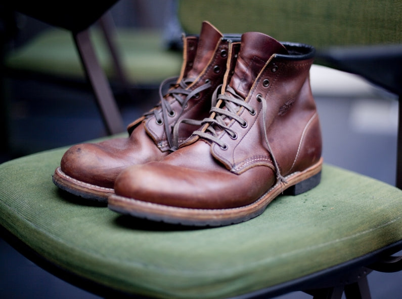 the Red Wing 100th anniversary shoe