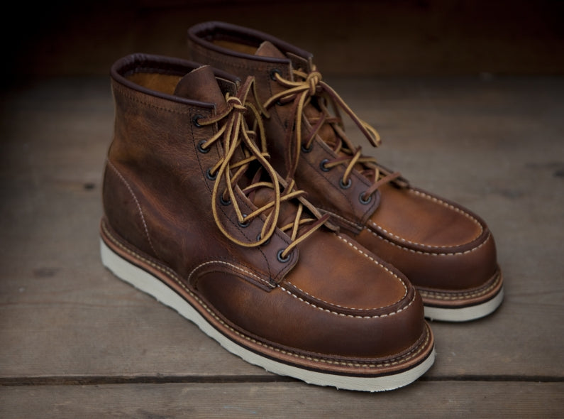 Red Wing Shoe 1907 6'' Moc Toe Copper Rough & Tough