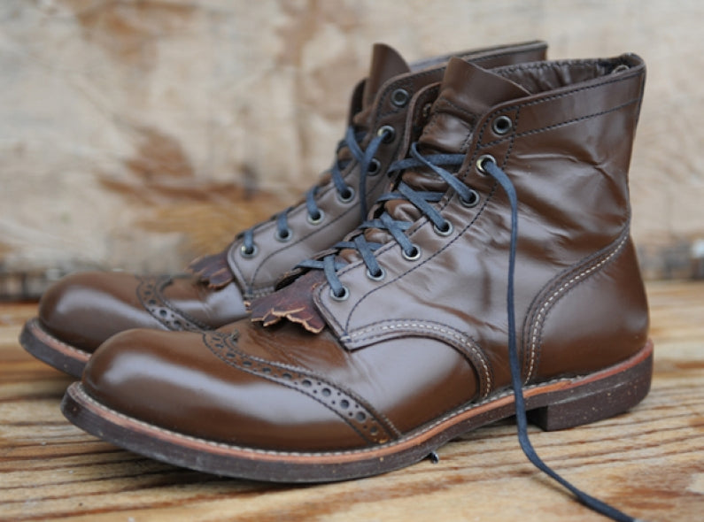 Customized Red Wing Brogue Rangers