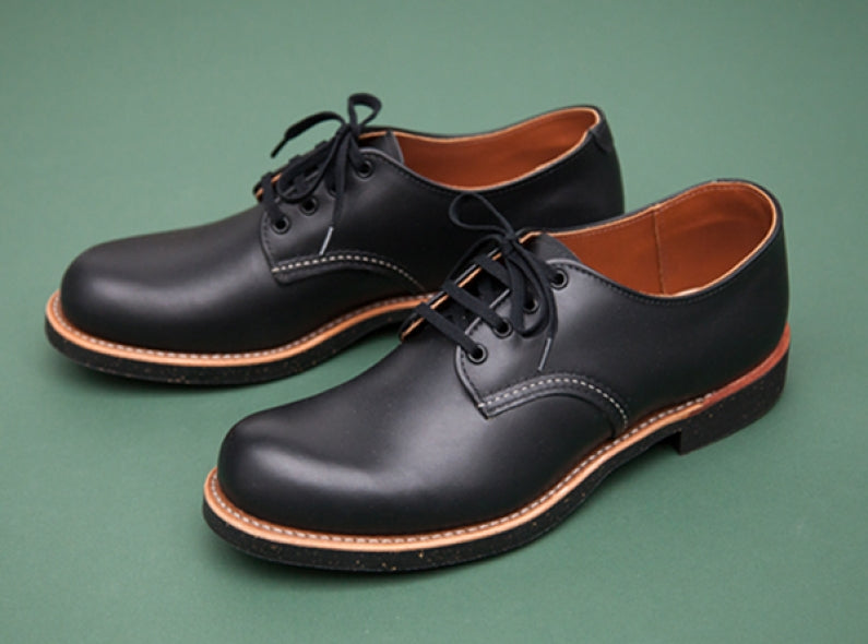 A closer look at the new Red Wing Work Oxford style