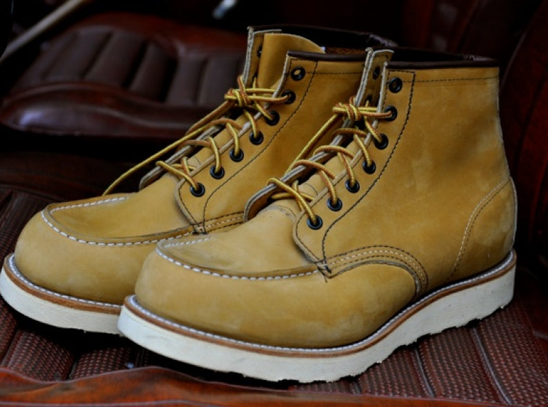 Red Wing Shoes 2878 - Yellow Nubuck Leather