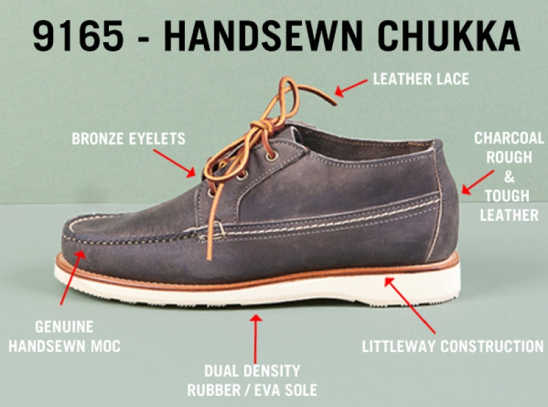 An Analysis of the New Red Wing Shoes 9165 Hand-Sewn Chukka Style