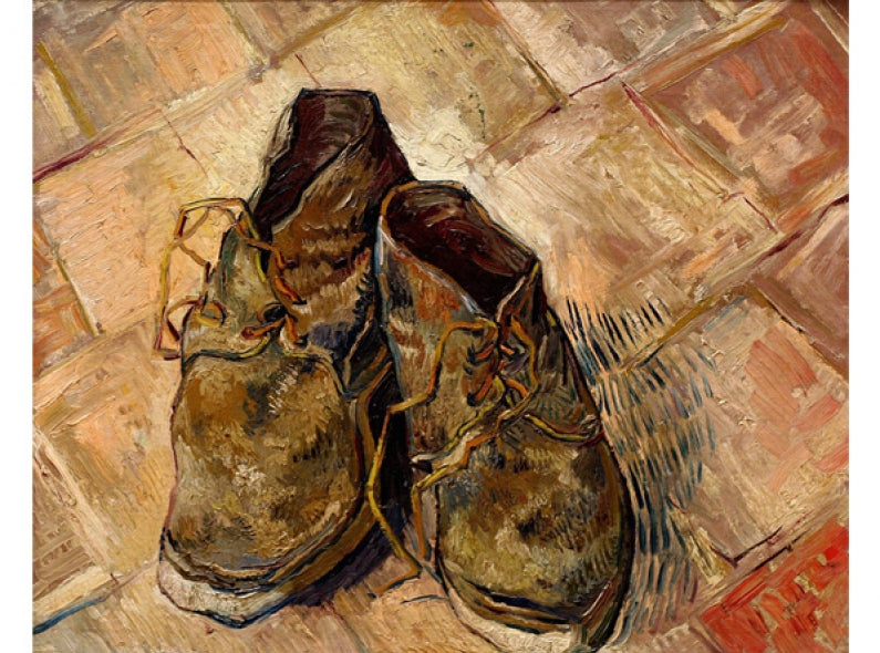 The Shoes of Vincent van Gogh