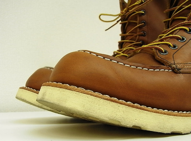 The Last Red Wing Oro-Iginal Moc Toe's