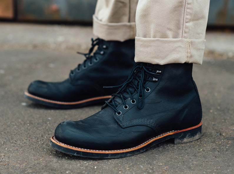 Get warm with the Red Wing Harvester boots!