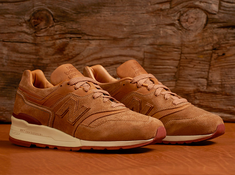 New Balance x Red Wing Heritage collaboration