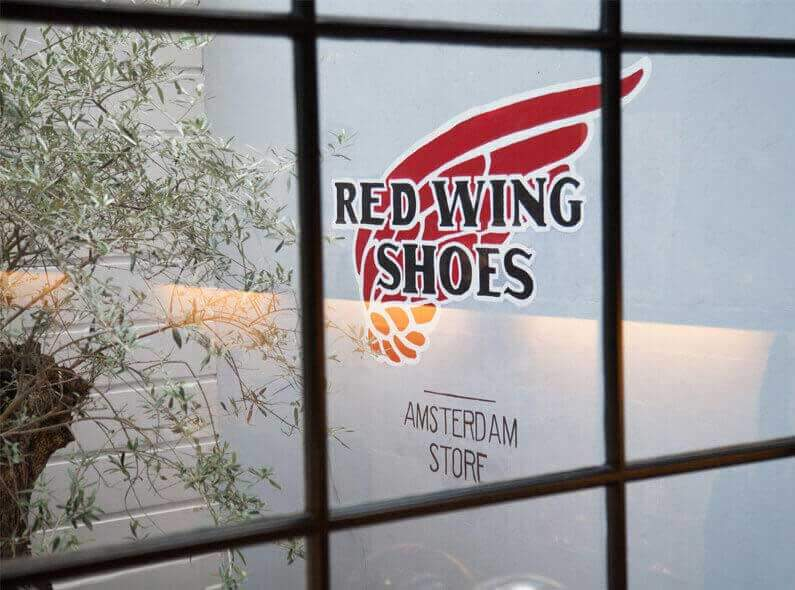 Welcome to our new online Red Wing Shoe Store Amsterdam!