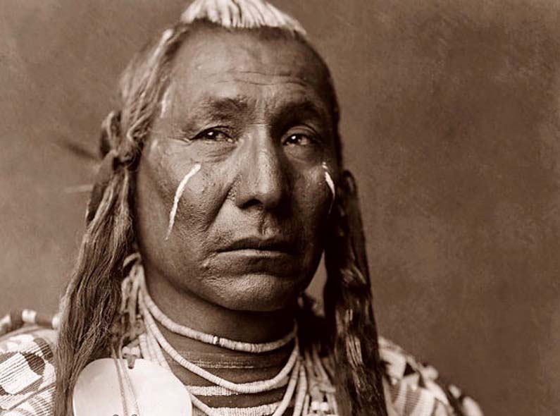 The story behind the American Indian leader 'Red Wing'