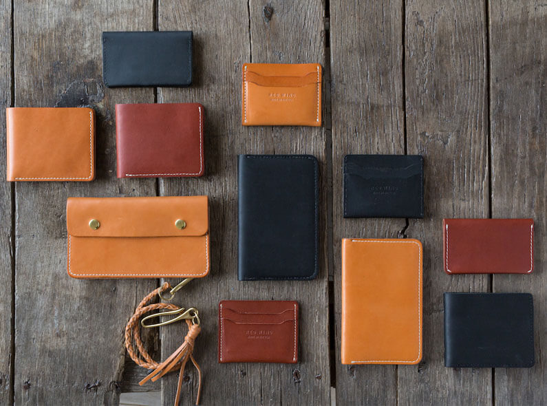 A brand-new collection of Red Wing Small Leather Goods