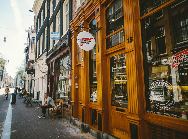 The Roser Brothers take on the Red Wing Amsterdam Store