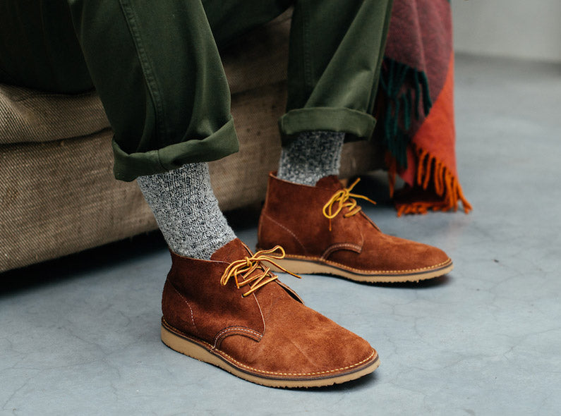 New Spring-Summer 2018 styles at Red Wing Amsterdam