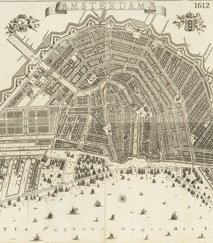 Amsterdam Red Wing Amsterdam Map