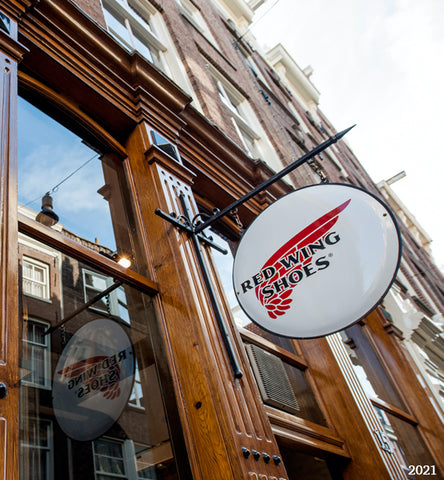 Red Wing Amsterdam Sign Reestraat History 2021