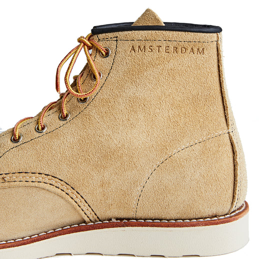 'AMSTERDAM' Moc Toe - Limited edition