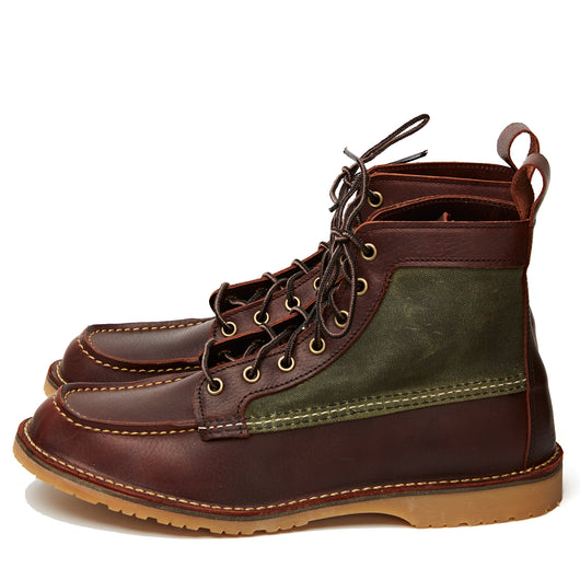 3336 Weekender Canvas Moc Briar Oil Slick