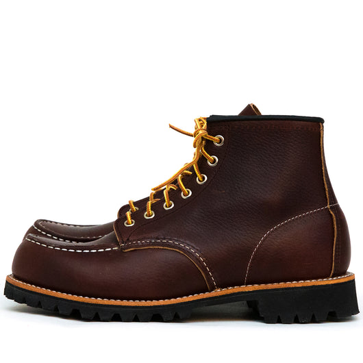 8146 Roughneck Moc Toe Briar Oil Slick