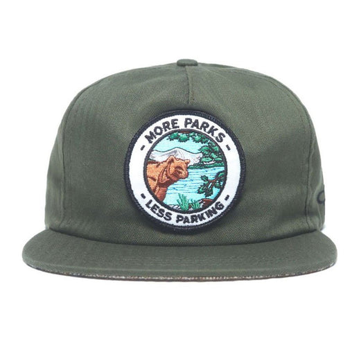 Ampal Creative - More Parks Cap - Green
