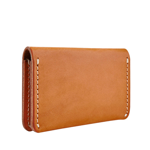 Folded Card Holder - Vegetable Tanned