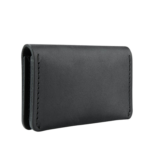 Folded Card Holder - Black